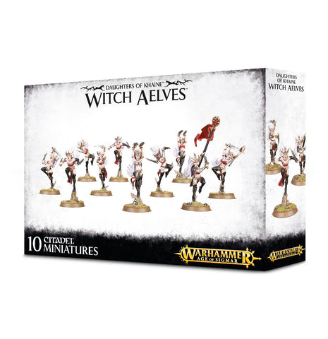 Age of Sigmar - Daughters of Khaine Witch Aelves: www.mightylancergames.co.uk