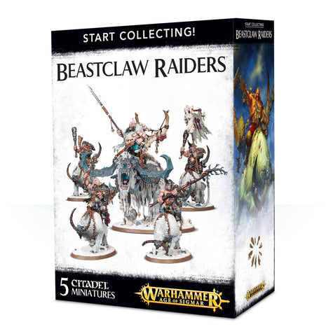 Start Collecting: Beastclaw Raiders - Age of Sigmar