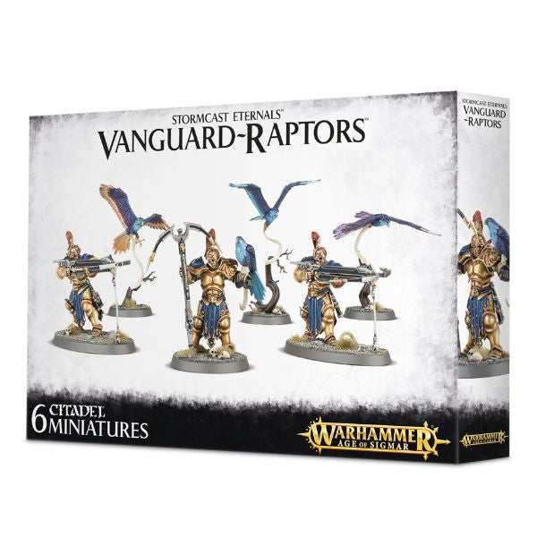 Vanguiard Raptors (Age of Sigmar): www.mightylancergames.co.uk