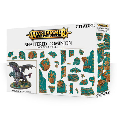 Age of Sigmar: Scenery - Shattered Dominion Large Base Detail Kit