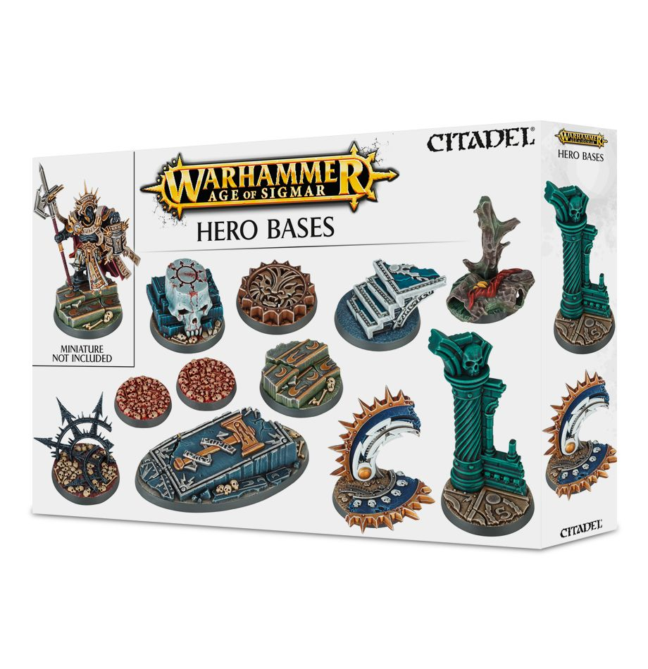 Hero Bases - Age of Sigmar :www.mightylancergames.co.uk