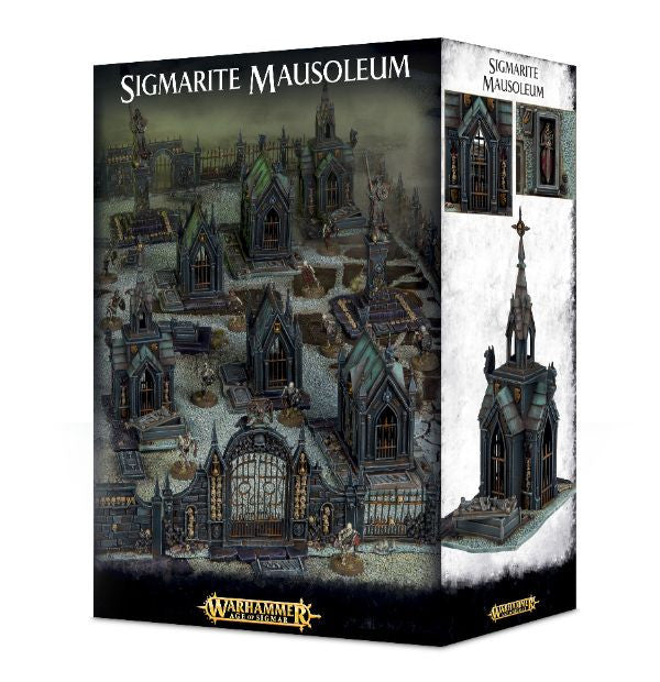 Sigmarite Mausoleum - Age of Sigmar Terrain Kit: www.mightylancergames.co.uk