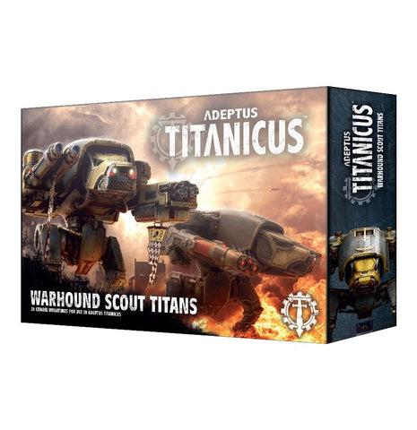 Adeptus Titanicus: Warhound Scout Titans: www.mightylancergames.co.uk
