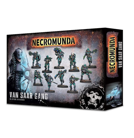 Van Saar Gang Necromunda: www.mightylancergames.co.uk
