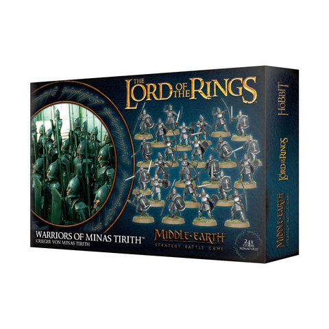 Middle-Earth Strategy Battle Game - Warriors of Minas Tirith: www.mightylancergames.co.uk