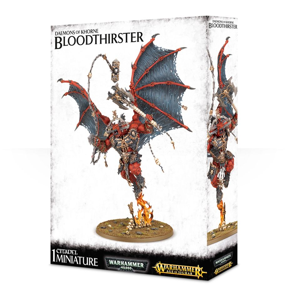 Bloodthirster - Daemons of Khorne: www.mightylancergames.co.uk