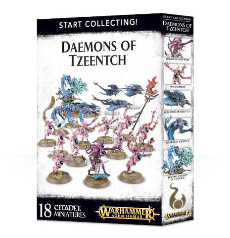 Age of Sigmar - Daemons of Tzeentch - Start Collecting!