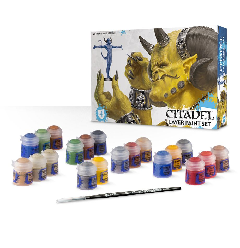 Citadel Layer Paint Set: www.mightylancergames.co.uk