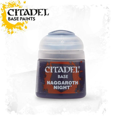 Citadel Base Paint - NAGGAROTH NIGHT (12ml)