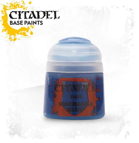 Citadel Base Paint - MACRAGGE BLUE (12ml)