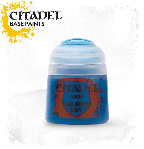 Citadel Base Paint - Caledor Sky (12ml) :www.mightylancergames.co.uk