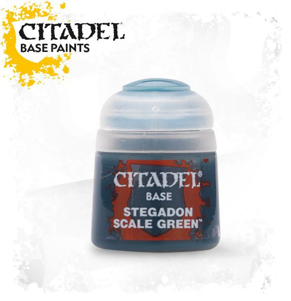 Citadel Paint - STEGADON SCALE GREEN  (12ml)
