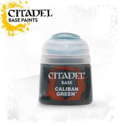 Citadel Base Paint - Caliban Green (12ml) :www.mightylancergames.co.uk