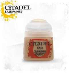 Citadel Base Paint - Zandri Dust (12ml) :www.mightylancergames.co.uk