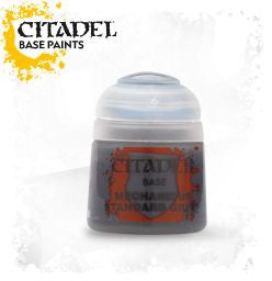 Citadel Base Paint - Mechanicus Standard Grey (12ml) :www.mightylancergames.co.uk