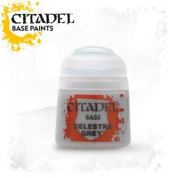 Citadel Base Paint - Celestra Grey  (12ml) :www.mightylancergames.co.uk