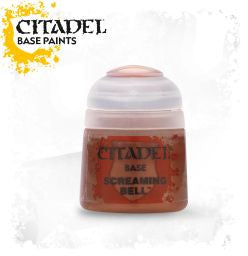 Citadel Base Paint - Screaming Bell (12ml) :www.mightylancergames.co.uk