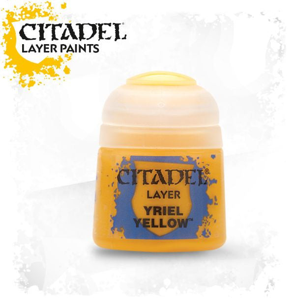 Citadel Layer Paint - Yriel Yellow (12ml)