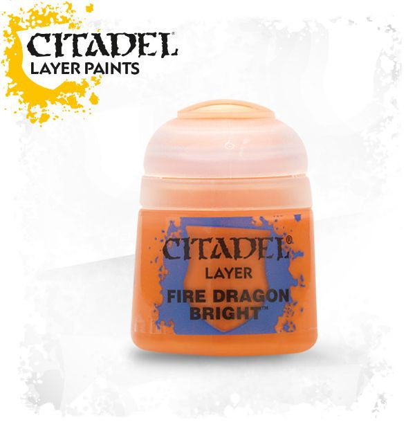 Citadel Layer Paint - Fire Dragon Bright  (12ml)