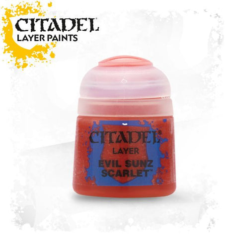 Citadel Layer Paint - Evil Sunz Scarlet  (12ml)