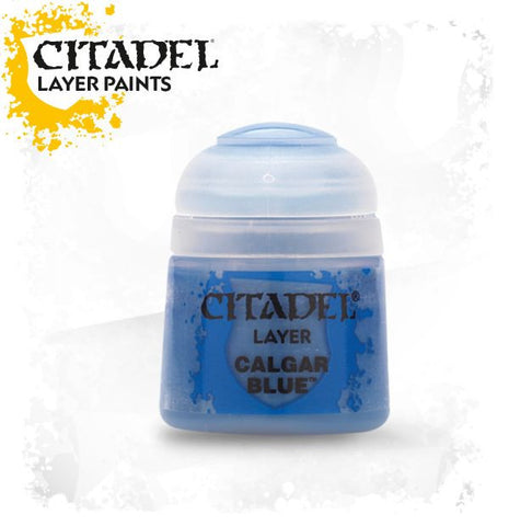 Citadel Layer Paint - Calgar Blue (12ml) :www.mightylancergames.co.uk