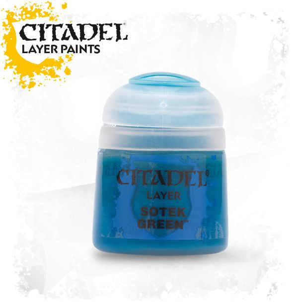 Citadel Layer Paint - Sotek Green (12ml)