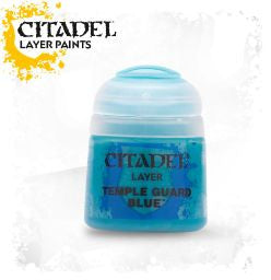 Citadel Layer Paint - TEMPLE GUARD BLUE (12ml)
