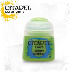 Citadel Layer Paint - MOOT GREEN (12ml)
