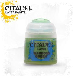 Citadel Layer Paint - WARBOSS GREEN  (12ml)