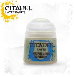 Citadel Layer Paint - NURGLING GREEN (12ml)
