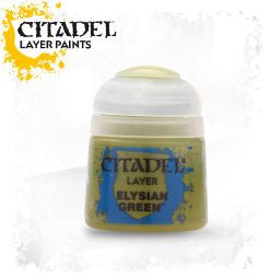 Citadel Layer Paint - ELYSIAN GREEN (12ml)