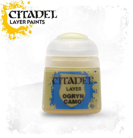 Citadel Layer Paint - OGRYN CAMO  (12ml)