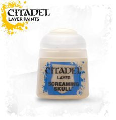 Citadel Layer Paint - Screaming Skull (12ml) :www.mightylancergames.co.uk