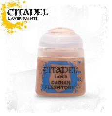 Citadel Layer Paint - Cadian Fleshtone (12ml) :www.mightylancergames.co.uk
