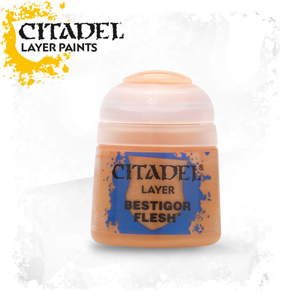 Citadel Layer Paint - Bestigor Brown (12ml): www.mightylancergames.co.uk
