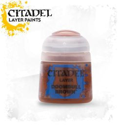 Citadel Layer Paint - DOOMBULL BROWN (12ml)