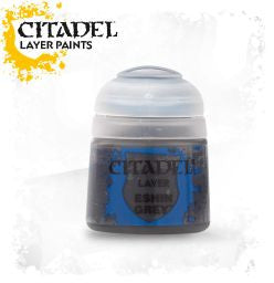 Citadel Layer Paint - Eshin Grey  (12ml) :www.mightylancergames.co.uk