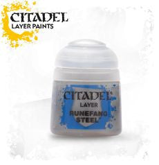 Citadel Layer Paint - Runefang Steel (12ml) :www.mightylancergames.co.uk