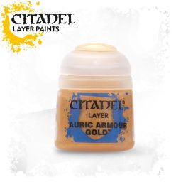 Citadel Layer Paint - AURIC ARMOUR GOLD  (12ml)