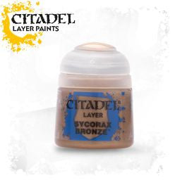 Citadel Layer Paint - SYCORAX BRONZE (12ml)