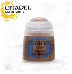 Citadel Layer Paint - BRASS SCORPION (12ml)
