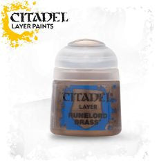 Citadel Layer Paint - RUNELORD BRASS (12ml)