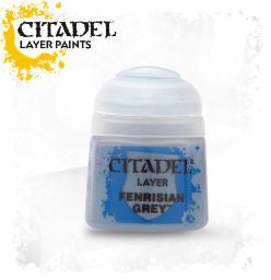 Citadel Layer Paint - Fenrisian Grey (12ml) :www.mightylancergames.co.uk