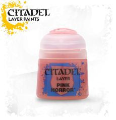 Citadel Layer Paint - Pink Horror (12ml) :www.mightylancergames.co.uk