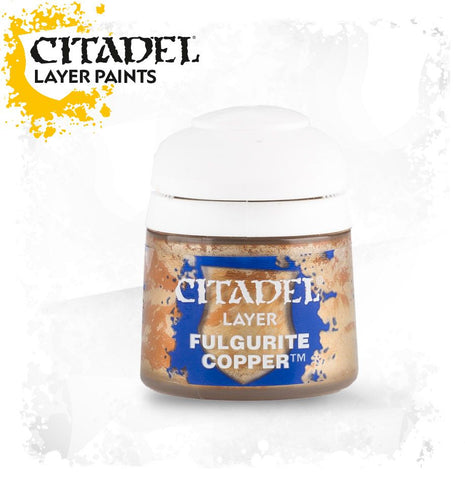 Citadel Layer Paint - Fulgurite Copper (12ml): www.mightylancergames.co.uk