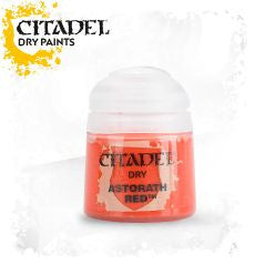 Citadel dry Paint - Astorath Red (12ml) :www.mightylancergames.co.uk