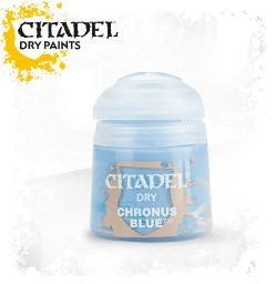 Citadel dry Paint - Chronus Blue (12ml) :www.mightylancergames.co.uk