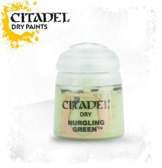 Citadel dry Paint - NURGLING GREEN (12ml)