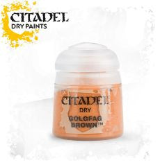Citadel dry Paint - GOLGFAG BROWN (12ml)