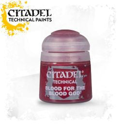 Citadel technical paint - Blood For THE Blood God (12ml) :www.mightylancergames.co.uk